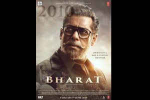 Salman Khan took over two hours for his old look in 'Bharat'