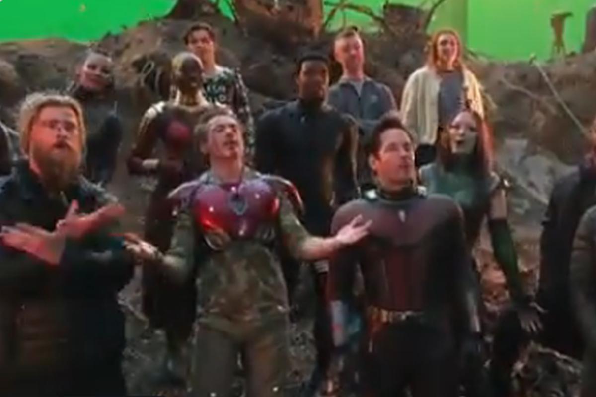Robert Downey Jr., Avengers: Endgame, Iron Man, Marvel, MCU, Chris Hemsworth, Chris Evans, Paul Rudd, Chris Pratt, Infinity Saga