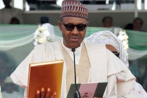 Nigerian President Muhammadu Buhari sworn in for second term