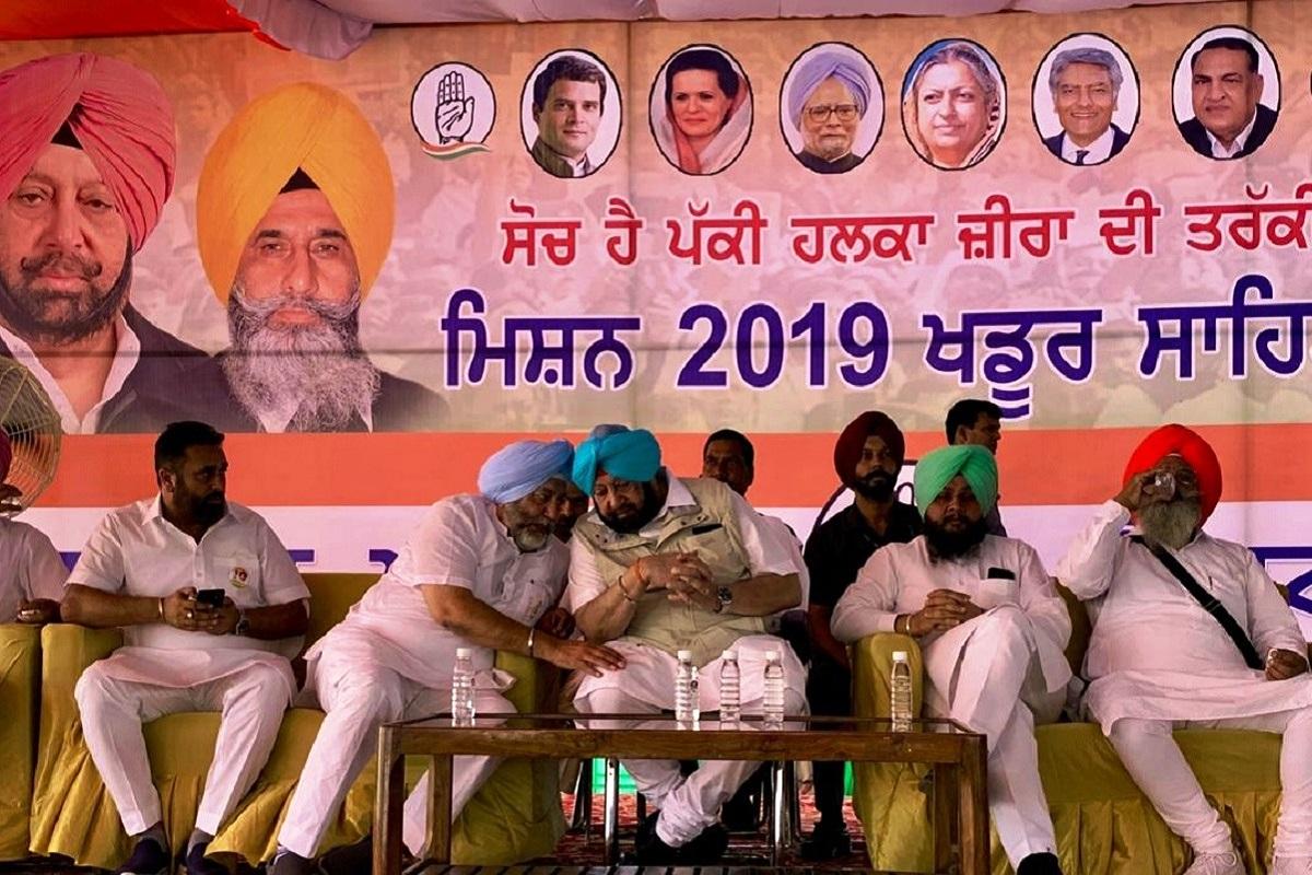 Modi, Amarinder, Chandigarh, Amarinder Singh, Narendra Modi, Congress, Prakash Singh Badal, Election Commission, EC, Punjab, Shiromani Akali Dal, Bharatiya Janata Party, BJP, Lok Sabha elections