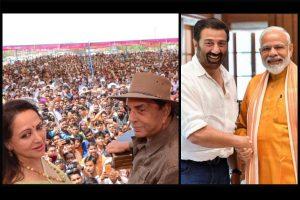 Dharmendra congratulates Sunny Deol, Hema Mailini for Lok Sabha poll performance