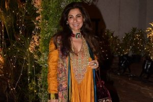 Congratulations pour in for Dimple Kapadia for role in Christopher Nolan's Tenet