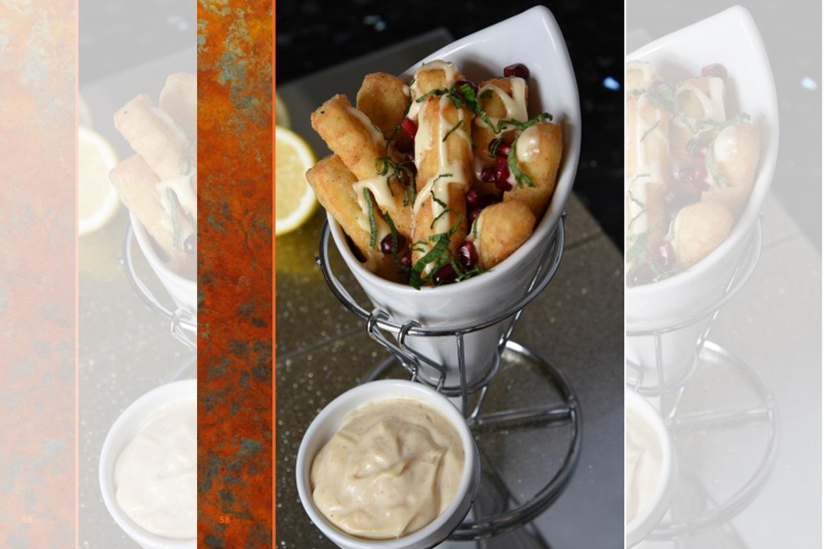Recipe: Halloumi Chips with nimbu mayonnaise