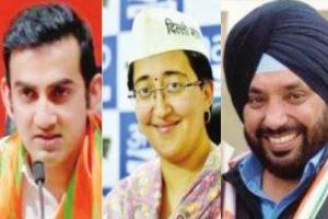 Tight triangular contest in East Delhi