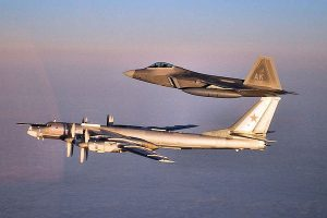 F-22 jets intercept Russian bombers, fighters near Alaska: US military