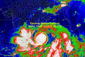 Cyclone Fani likely to cross between Gopalpur and Chandbali on 3 May