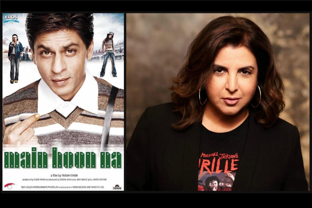 Farah Khan, Main Hoon Na, Shah Rukh Khan, Zayed Khan, Amrita Rao, Sushmita Sen, Suniel Shetty, Shirish Kunder, Mrs Serial Killer, Jacqueline Fernandez
