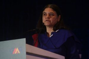 We work for all but feel bad when they say won't vote for lotus: Maneka on her remarks on Muslims