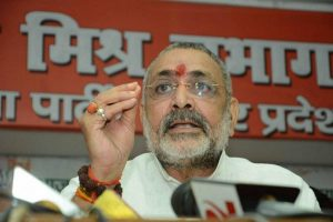 Election Commission censures Giriraj Singh for Begusarai speech