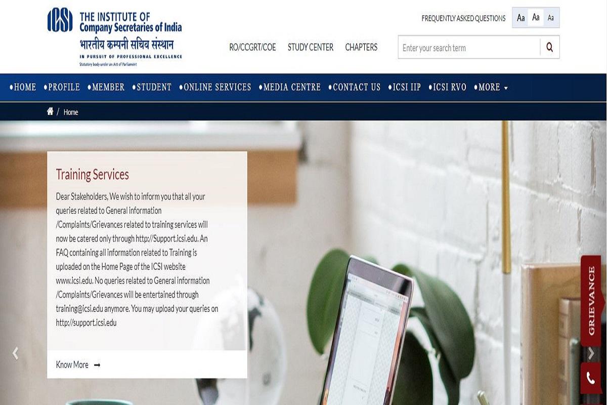 ICSI CS admit cards 2019, Institute of Company Secretaries of India, icsi.edu, ICSI CS admit cards, icsi.indiaeducation.net