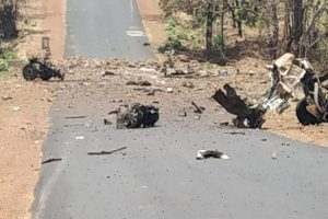 15 security personnel killed in IED blast on police vehicle by Naxals in Maharashtra; PM Modi condemns act