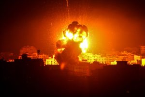 Israel attacks 70 military targets in Gaza Strip