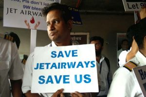 Jet Airways staff knock on Aviation Ministry's doors