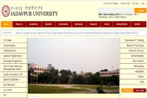 Jadavpur University admissions: No admission tests for UG courses in science departments