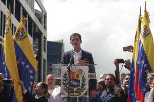 Juan Guaido blasts Venezuela regime after security forces block congress
