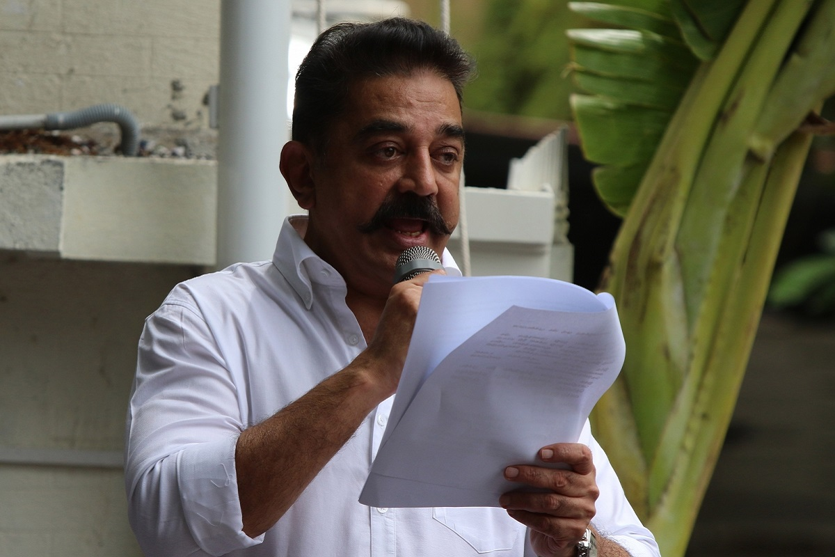 MNM files complaint against minister who made 'cut off tongue' remark on Kamal Haasan