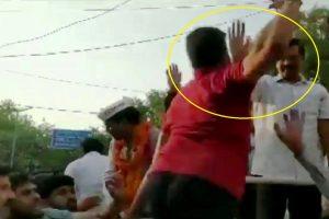 Delhi CM Arvind Kejriwal slapped during roadshow, AAP says 'big conspiracy'