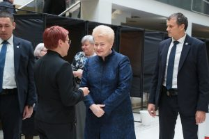 Voting takes place for Lithuania presidential poll