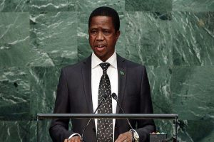 Zambia president threatens mining companies over tax