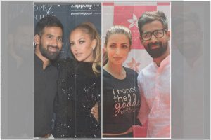 Jennifer Lopez, fiancé Alex Rodriguez, Malaika Arora join hands with Indian yoga and wellness brand SARVA