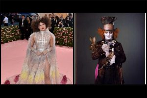 MetGala 2019: Priyanka Chopra gives serious competition to Johnny Depp as Mad Hatter and Red Queen mix