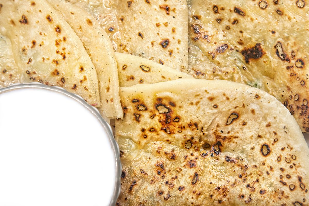 Milk, paratha, namkeen milk paratha, meetha milk paratha, yogurt paratha, daily diet, eat healthy, children