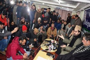 Ready to support India-Pakistan talks, says Mirwaiz Umar Farooq