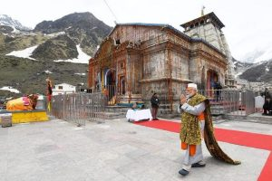 Ahead of poll results, PM Modi offers prayers at Kedarnath shrine, reviews redevelopment projects