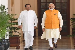 PM Modi holds bilateral talks with Sri Lankan president, notes terrorism as threat to humanity