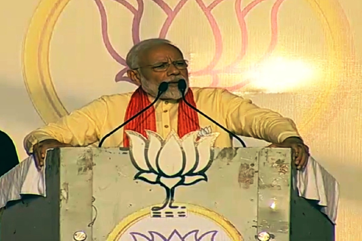 Mamata Didi has harboured syndicate of gangsters and smugglers: PM Modi in Mathurapur