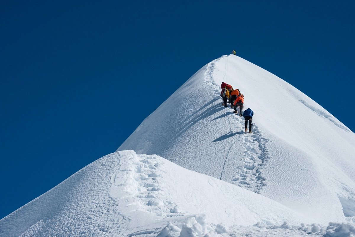 Mount Everest, Into Thin Air, The Climb, Blind Descent, High Adventure, Touching my Father's Soul