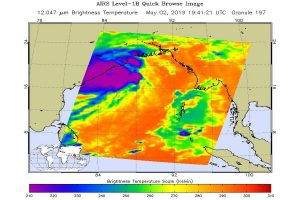 Check out NASA Cyclone Fani image before landfall