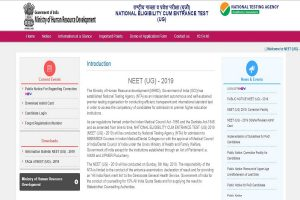 NTA releases NEET answer keys 2019 on ntaneet.nic.in | Check now
