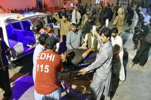 Four policemen killed, 11 injured in blast in Pakistan's Quetta