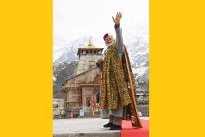 In Pictures | PM Modi at Kedarnath meditation cave