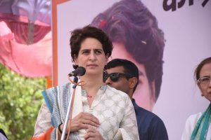 Child rights body notice to Priyanka Gandhi over 'use of children' in poll campaign