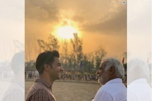 Rajkummar Rao shares picture from Turram Khan, his next film with Hansal Mehta