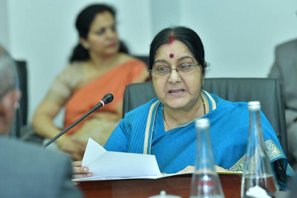 Sports fraternity condoles untimely demise of Sushma Swaraj