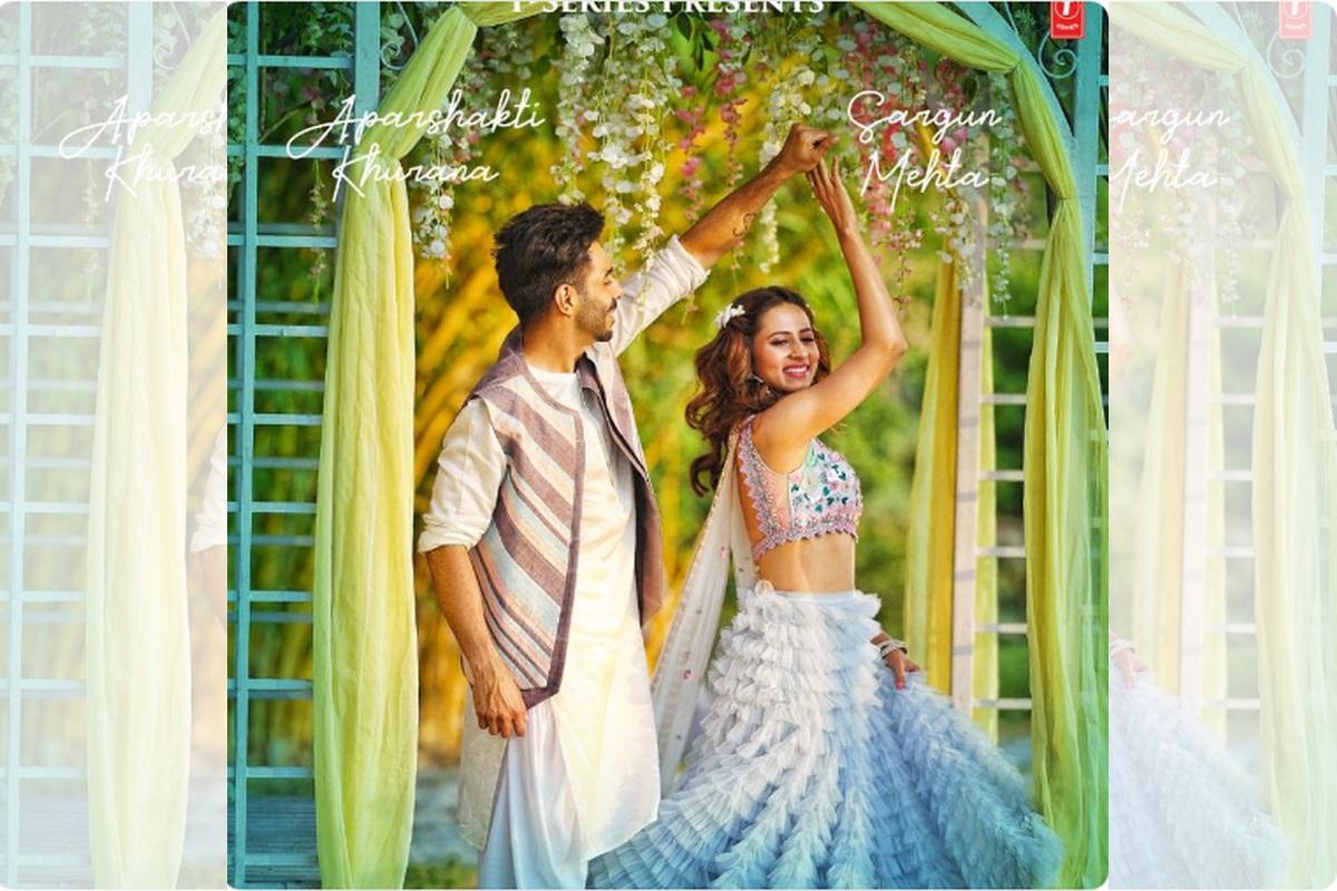 Sargun Mehta, Aparshakti Khurana, Kudiye Ni, Qismat, Punjabi romantic track, Neeti Mohan, Tahira Kashyap, T-Series, Dangal