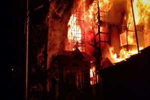 Massive fire guts VVIP wing of British-era Grand Hotel in Shimla, no casualty