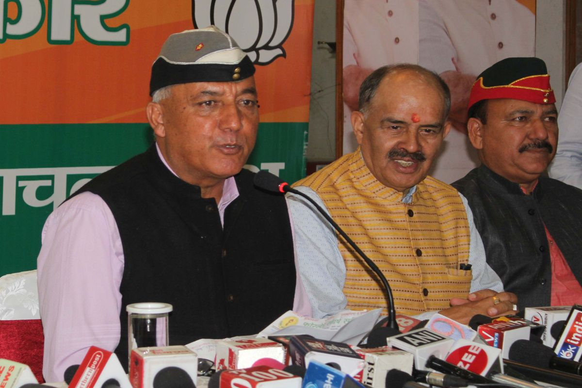 National security a poll issue: Khushal Thakur