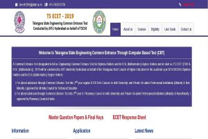 TS ECET 2019 Rank Cards released at ecet.tsche.ac.in   Direct link to check results here