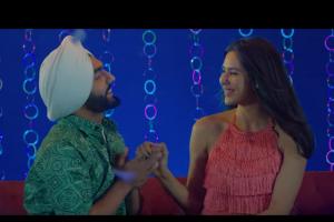 Muklawa co-stars Sonam Bajwa and Ammy Virk launch new song 'Wang Da Naap'