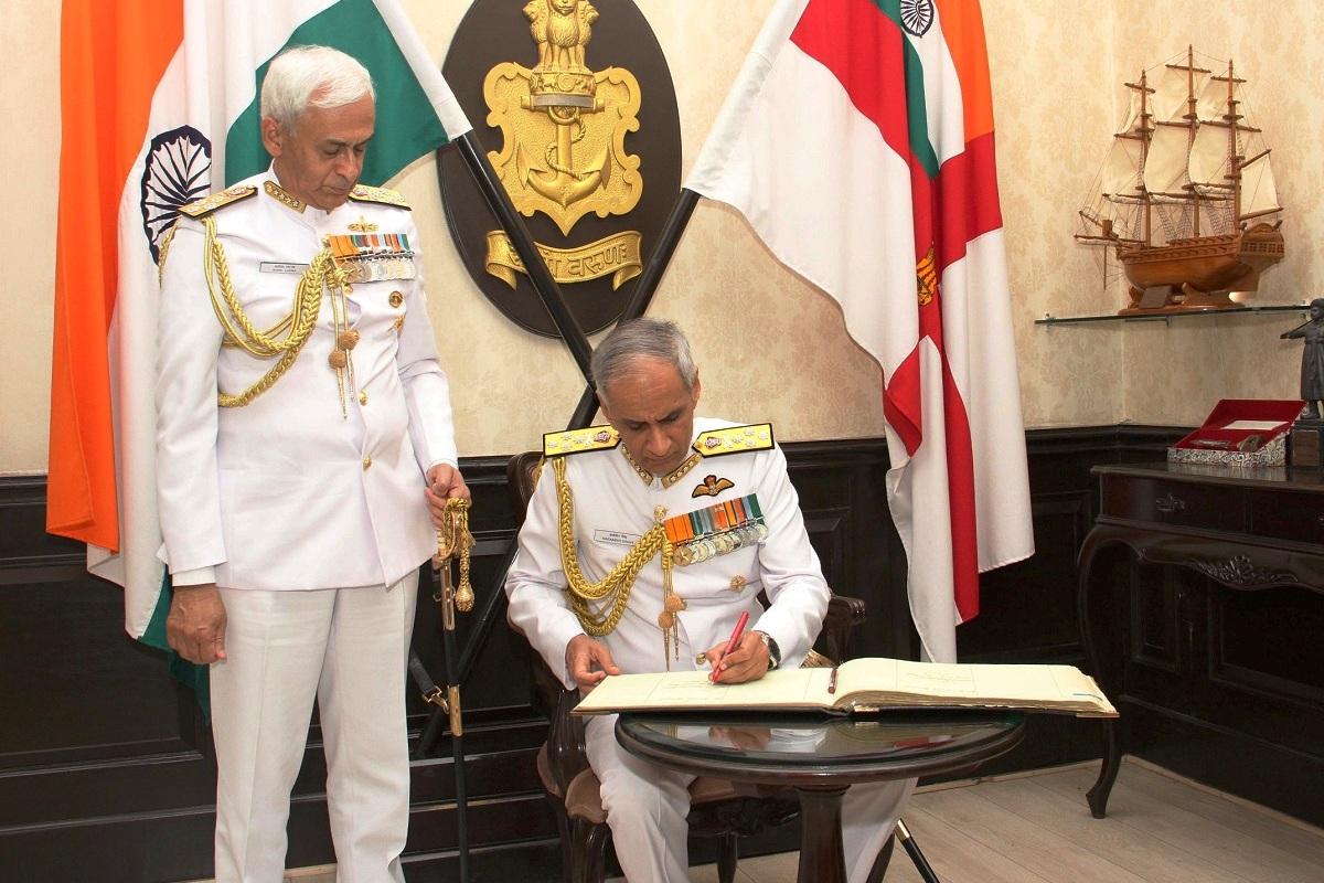 Indian Navy, Grey Eagle, Admiral Karambir Singh, New Delhi, Chief of the Naval Staff, Admiral Sunil Lanba, Indian Coast Guard, National Defence Academy, Indian Air Force, IAF