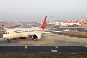 Air India Mumbai-Newark flight makes precautionary landing in London after 'bomb threat'