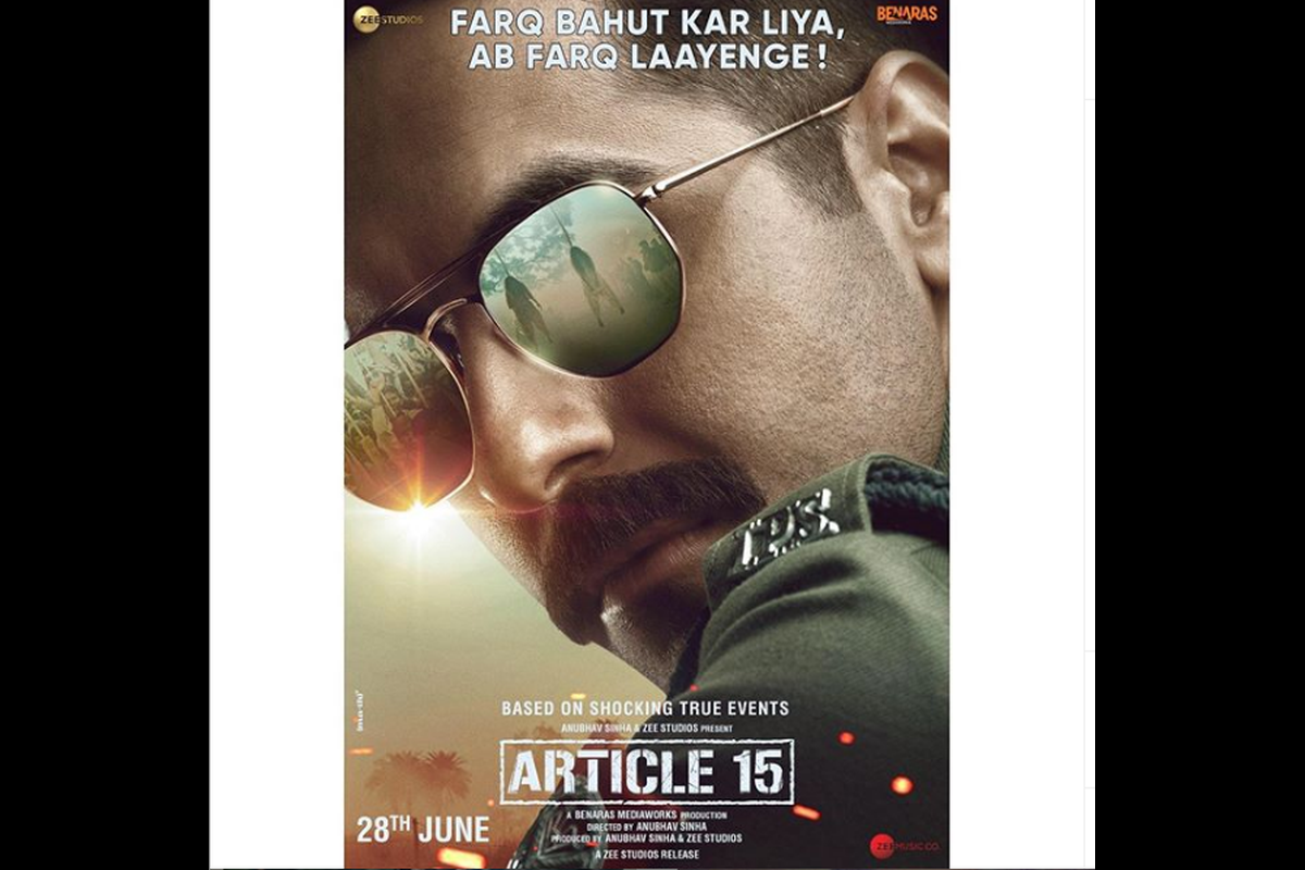 Anubhav Sinha, Article 15, Brahmin, UP