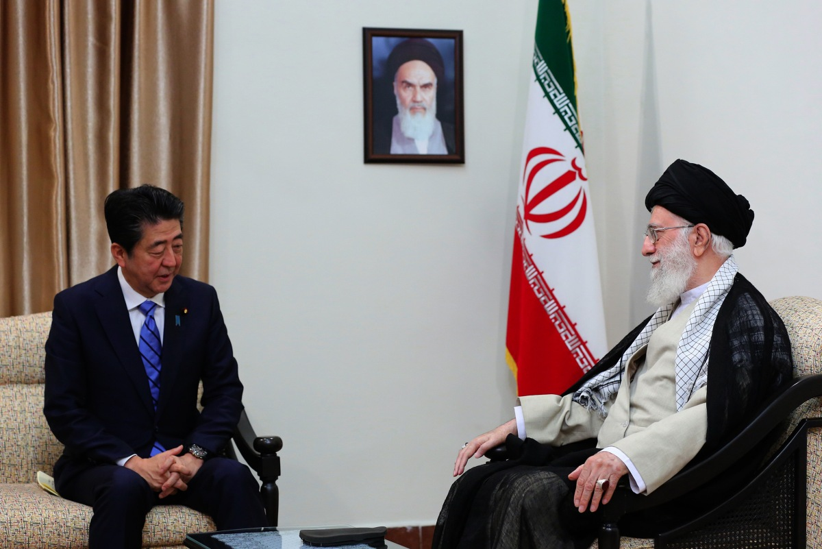 Long-shot diplomacy, Shinzo Abe, Tehran, Iran, Japan