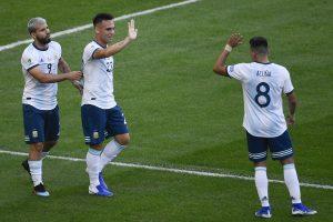 Copa America 2019: Argentina beat Venezuela, advance to semis
