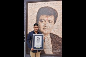 Bhushan Kumar receives Guinness World Records certificate