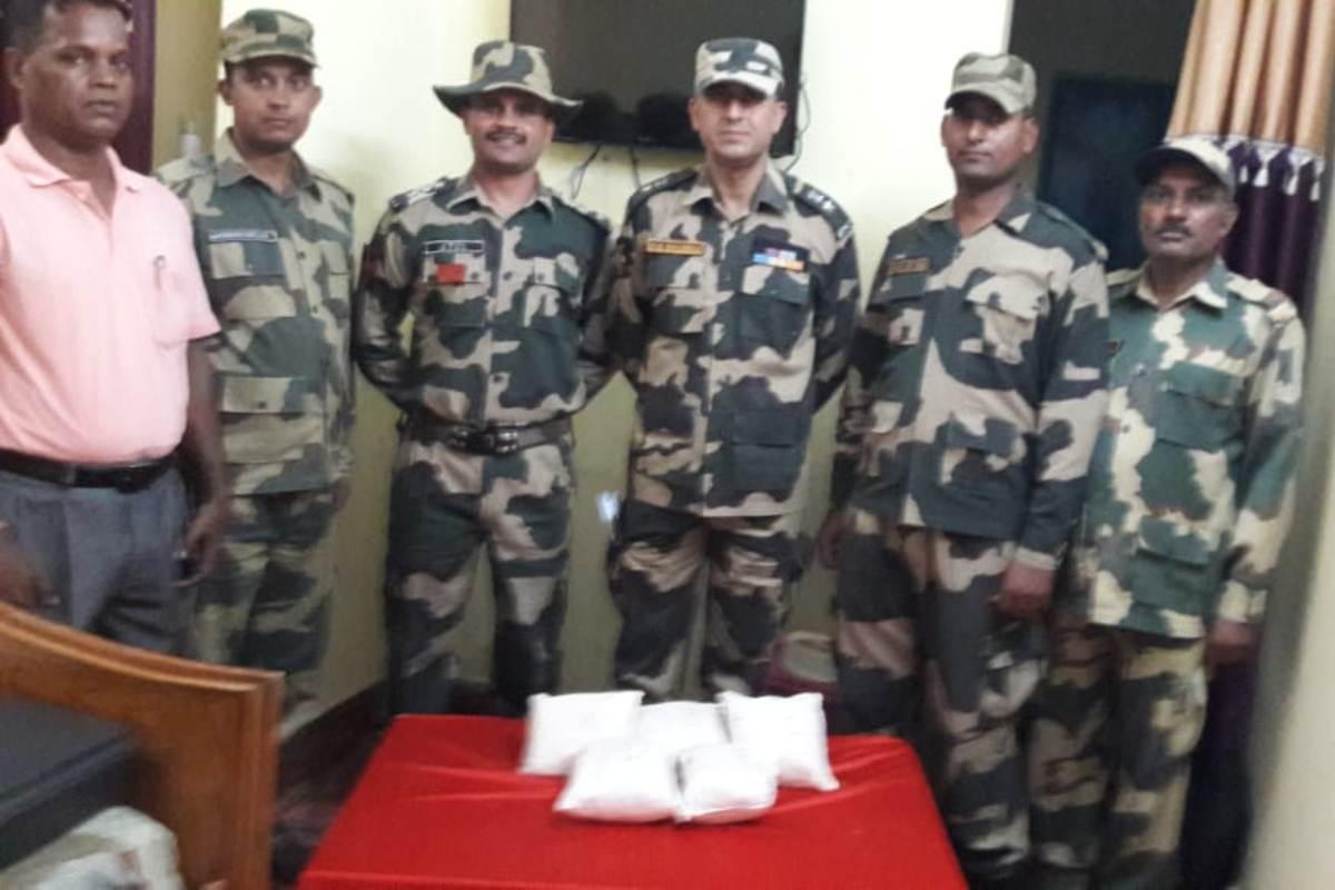 Heroin, BSF, Border, Suchetgarh, Pakistan